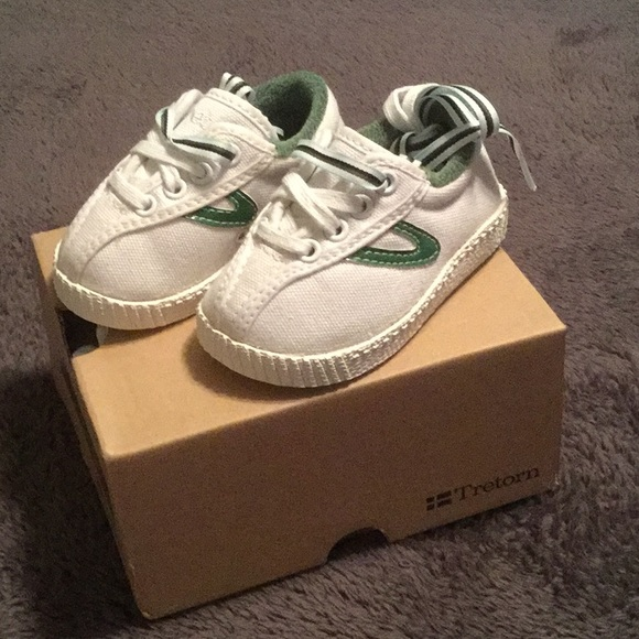 Tretorn Canvas Infant Sneakers NWT NWT